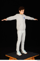 Duke dressed jogging suit sneakers sports standing sweatsuit t poses whole body 0008.jpg
