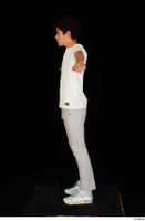 Duke dressed jogging suit sneakers sports standing sweatsuit t poses t shirt whole body 0003.jpg
