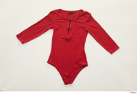 Clothes  252 casual long sleeve t shirt red bodysuit 0001.jpg