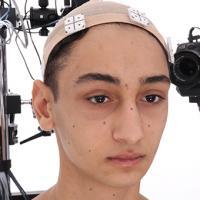 Retopologized 3D Head scan of Vojta Source Images
