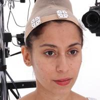 Retopologized 3D Head scan of Mirka Source Images