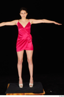 Tiny Tina dressed high heels pink dress standing t poses whole body 0001.jpg