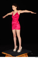 Tiny Tina dressed high heels pink dress standing t poses whole body 0002.jpg