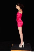 Tiny Tina dressed high heels pink dress standing t poses whole body 0003.jpg