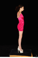 Tiny Tina dressed high heels pink dress standing t poses whole body 0007.jpg