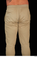 Grigory brown sweatpants dressed sports thigh 0005.jpg