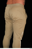 Grigory brown sweatpants dressed sports thigh 0006.jpg