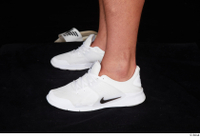 Grigory dressed foot sports white sneakers 0003.jpg