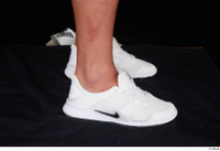Grigory dressed foot sports white sneakers 0007.jpg