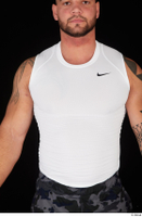 Grigory dressed sports upper body white tank top 0001.jpg