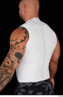 Grigory dressed sports upper body white tank top 0004.jpg