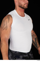 Grigory dressed sports upper body white tank top 0008.jpg