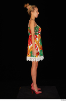 Emily Bright casual dress dressed standing whole body 0007.jpg