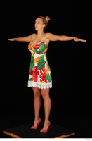 Emily Bright casual dress dressed standing t poses whole body 0002.jpg