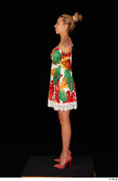 Emily Bright casual dress dressed standing t poses whole body 0003.jpg