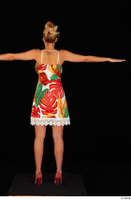Emily Bright casual dress dressed standing t poses whole body 0005.jpg