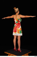 Emily Bright casual dress dressed standing t poses whole body 0006.jpg