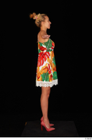 Emily Bright casual dress dressed standing t poses whole body 0007.jpg
