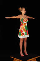 Emily Bright casual dress dressed standing t poses whole body 0008.jpg