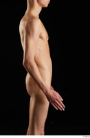 Johnny Reed  1 arm flexing nude side view 0002.jpg