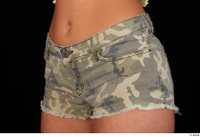Jennifer Mendez camo shorts dressed hips sports 0002.jpg