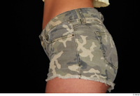 Jennifer Mendez camo shorts dressed hips sports 0003.jpg