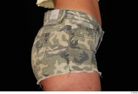 Jennifer Mendez camo shorts dressed hips sports 0007.jpg