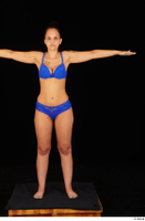 Jennifer Mendez bra panties standing t poses underwear whole body 0001.jpg