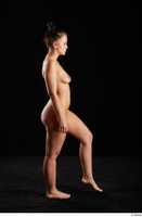 Jennifer Mendez  1 nude side view walking whole body 0003.jpg