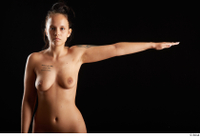Jennifer Mendez  1 arm flexing front view nude 0003.jpg