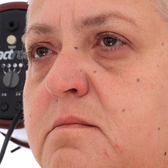 Retopologized 3D Head scan of Dana