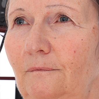 Retopologized 3D Head scan of Jana