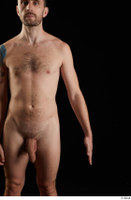 Trent  1 arm flexing front view nude 0001.jpg