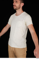 Trent casual dressed upper body white t shirt 0002.jpg