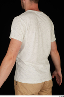 Trent casual dressed upper body white t shirt 0004.jpg