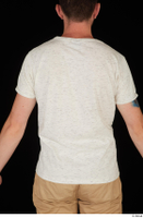 Trent casual dressed upper body white t shirt 0005.jpg