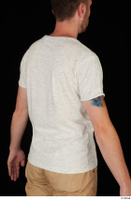 Trent casual dressed upper body white t shirt 0006.jpg
