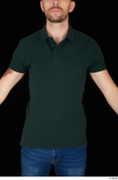 Trent casual dressed green t shirt upper body 0001.jpg