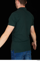 Trent casual dressed green t shirt upper body 0004.jpg
