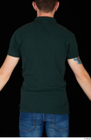 Trent casual dressed green t shirt upper body 0005.jpg