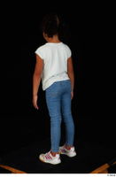 Elissa blue jeans casual dressed sneakers standing white t shirt whole body 0004.jpg