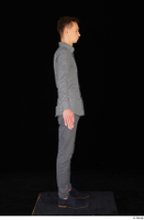 Alessandro Katz black shoes business dressed grey shirt grey trousers standing whole body 0007.jpg