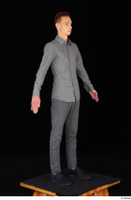 Alessandro Katz black shoes business dressed grey shirt grey trousers standing whole body 0008.jpg