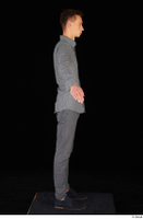 Alessandro Katz black shoes business dressed grey shirt grey trousers standing whole body 0015.jpg