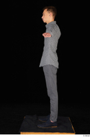Alessandro Katz black shoes business dressed grey shirt grey trousers standing t poses whole body 0003.jpg