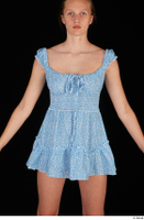 Stacy Cruz blue short dress casual dressed trunk upper body 0001.jpg