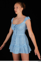 Stacy Cruz blue short dress casual dressed trunk upper body 0002.jpg