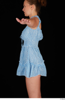 Stacy Cruz blue short dress casual dressed trunk upper body 0003.jpg