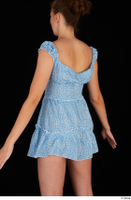 Stacy Cruz blue short dress casual dressed trunk upper body 0004.jpg