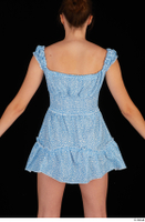 Stacy Cruz blue short dress casual dressed trunk upper body 0005.jpg